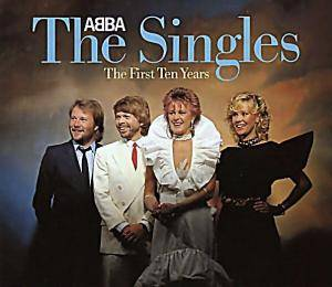 ABBA: Singles - The First Ten Years, The - Cover