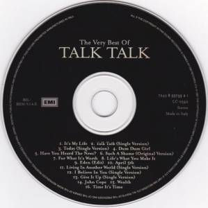 Talk Talk: The Very Best Of Talk Talk (CD) - Bild 3