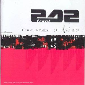 Front 242: [ :Re:Boot: (L. IV. E ]) - Cover