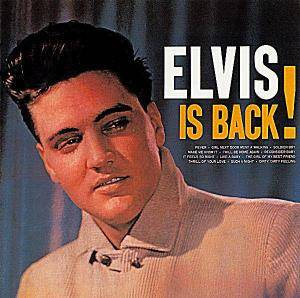 Elvis Presley: Elvis Is Back! - Cover