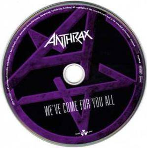 Anthrax: We've Come For You All (CD) - Bild 3