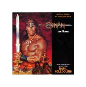 Cover - Basil Poledouris: Conan The Destroyer