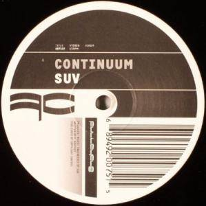 Cover - Suv: Continuum