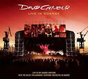 David Gilmour: Live In Gdańsk - Cover