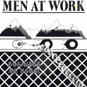 Men At Work: Business As Usual - Cover