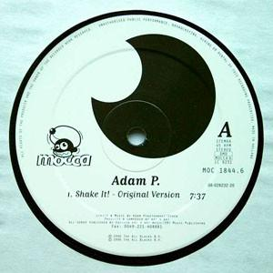 Adam P: Shake It! - Cover