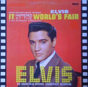 Elvis Presley: It Happened At The World's Fair - Cover