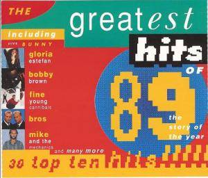 Greatest Hits Of 1989 (Telstar), The - Cover