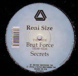Cover - Roni Size: Brut Force