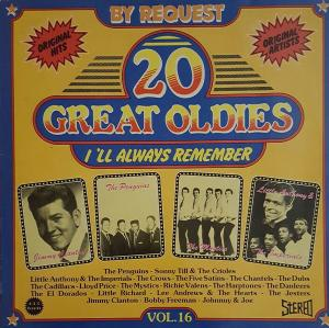 20 Great Oldies - I'll Always Remember Vol.16 - Cover