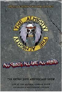 Almighty, The: All Proud, All Live, All Mighty - Cover