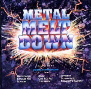 Metal Meltdown - Cover