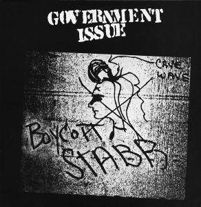 Cover - Government Issue: Boycott Stabb