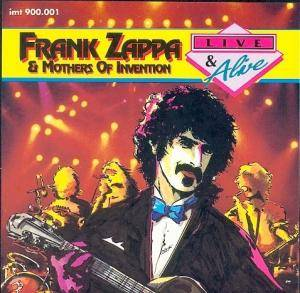 Frank Zappa & The Mothers Of Invention: Live & Alive - Cover