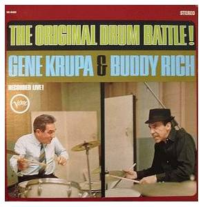 Cover - Gene Krupa & Buddy Rich: Original Drum Battle!, The