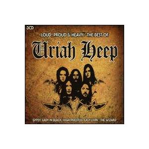 Uriah Heep: Loud, Proud & Heavy - The Best Of - Cover