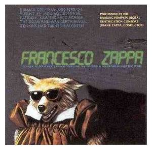 Francesco Zappa: Francesco Zappa - Cover