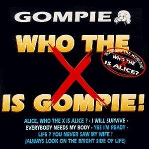 Cover - Gompie: Who The X Is Gompie!