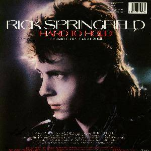 Rick Springfield / Peter Gabriel / Graham Parker / Nona Hendryx: Hard To Hold (Split-LP) - Bild 2