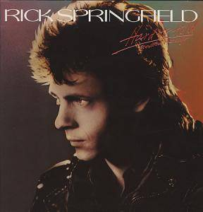 Rick Springfield / Peter Gabriel / Graham Parker / Nona Hendryx: Hard To Hold (Split-LP) - Bild 1