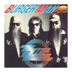 ZZ Top: Burger Man - Cover