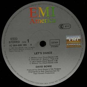 David Bowie: Let's Dance (LP) - Bild 2