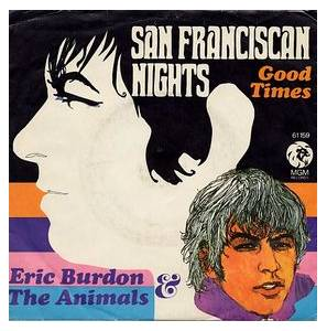 Cover - Eric Burdon & The Animals: San Franciscan Nights