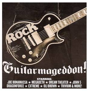 Cover - Storm Warning: Classic Rock 124 - Guitarmageddon