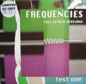 Cover - Kasjmir: Frequencies - Test One