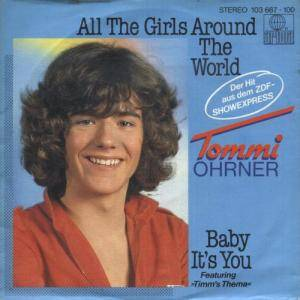Cover - Tommi Ohrner: All The Girls Around The World