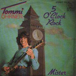 Cover - Tommi Ohrner: 5 O'clock Rock