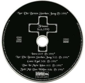 b hse onkelz nur die besten sterben jung single cd 1998. Black Bedroom Furniture Sets. Home Design Ideas