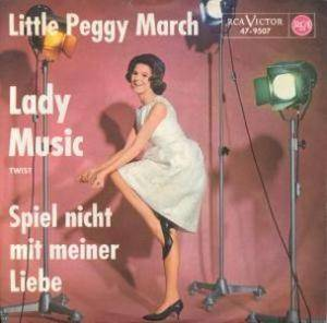 Cover - Little Peggy March: Lady Music