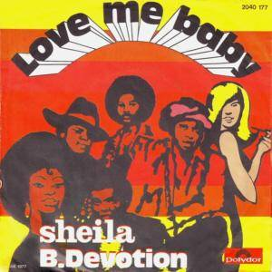 Sheila B. Devotion: Love Me Baby - Cover