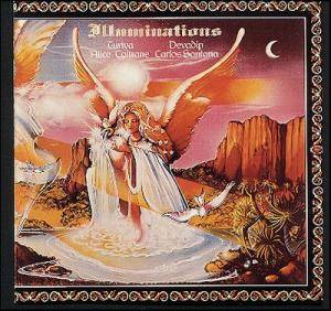 Carlos Santana & Alice Coltrane: Illuminations - Cover
