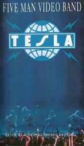 Tesla: Five Man Video Band - Cover