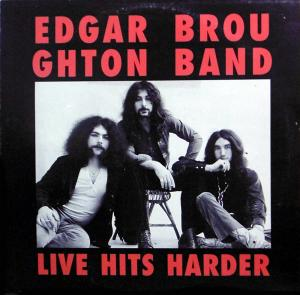 Edgar Broughton Band: Live Hits Harder - Cover