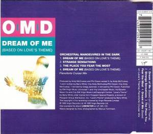 Orchestral Manoeuvres In The Dark: Dream Of Me (Based On Love's Theme) (Single-CD) - Bild 2