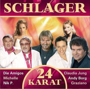 Cover - Solid Gold: 24 Karat - Schlager