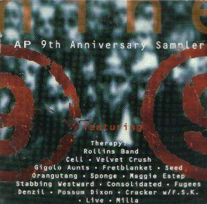 Cover - Gigolo Aunts: AP  9th Anniversary Sampler