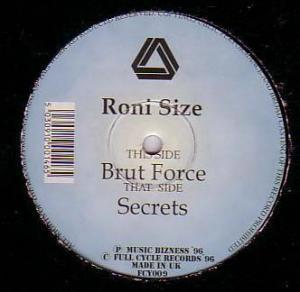 Roni Size: Brut Force - Cover