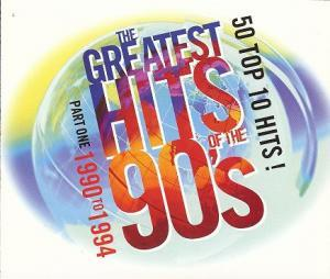 Greatest Hits Of The 90's - Part One: 1990-1994, The - Cover