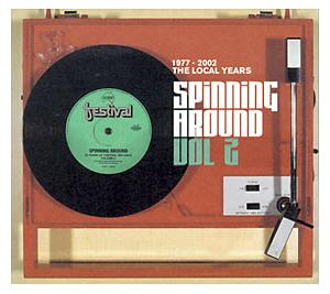 Spinning Around Vol 2: 50 Years Of Festival Records / The Local Years  1977 - 2002 - Cover