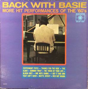 Cover - Count Basie: Back With Basie