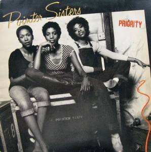 The Pointer Sisters: Priority - Cover