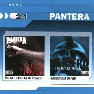 Cover - Pantera: Vulgar Display Of Power / Far Beyond Driven
