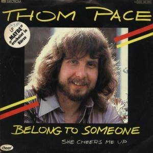 Cover - Thom Pace: Belong To Someone