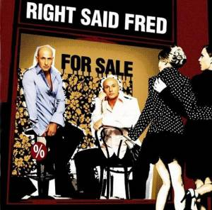 Cover - Right Said Fred: For Sale