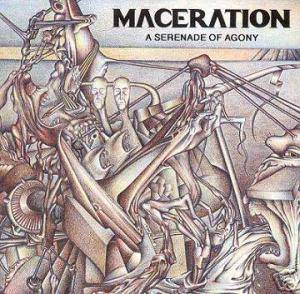Maceration: Serenade Of Agony, A - Cover