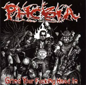 Phobia: Grind Your Fucking Head In - Cover